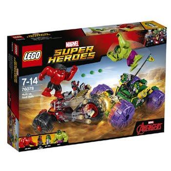 LEGO Marvel Super Heroes Hulk vs. Red Hulk 76078