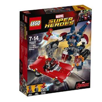 LEGO Marvel Super Heroes Iron Man: Detroit Steel valt aan 76077