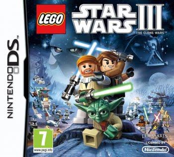 Lego Star Wars 3 The Clone Wars (Nintendo DS)