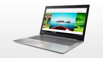 "Lenovo IdeaPad 320 2.5GHz A6-9220 15.6"" 1920 x 1080Pixels Grijs, Platina Notebook"