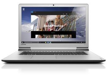 "Lenovo IdeaPad 700 17 2.6GHz I7-6700HQ 17.3"" 1920 x 1080Pixels Zwart, Zilver"