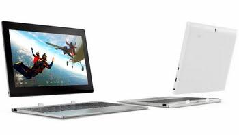 "Lenovo Miix 320 1.44GHz x5-Z8350 10.1"" 1280 x 800Pixels Touchscreen Zilver Hybride (2-in-1)"