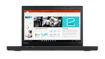 "Lenovo ThinkPad L470 2.4GHz i3-7100U 14"" 1920 x 1080Pixels Zwart Notebook"