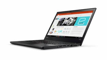 "Lenovo ThinkPad T470p 2.8GHz i7-7700HQ 14"" 1920 x 1080Pixels Zwart Notebook"