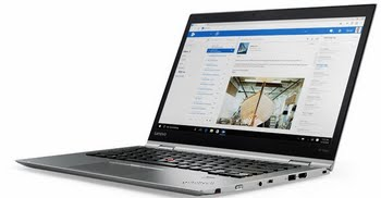 "Lenovo ThinkPad X1 Yoga (2nd Gen) 2.70GHz i7-7500U 14"" 2560 x 1440Pixels Touchscreen 3G 4G Zilver Hybride (2-in-1)"