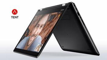 "Lenovo Yoga 510 14 2.7GHz i7-7500U 14"" 1920 x 1080Pixels Touchscreen Zwart Hybride (2-in-1)"