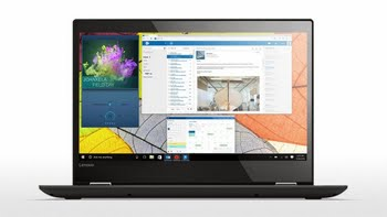 "Lenovo Yoga 520-14IKB 2.40GHz i3-7100U 14"" 1920 x 1080Pixels Touchscreen Zwart Hybride (2-in-1)"