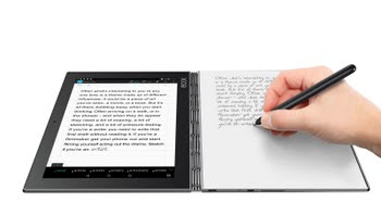 "Lenovo YOGA Book 1.44GHz x5-Z8550 10.1"" 1920 x 1200Pixels Touchscreen Grijs"