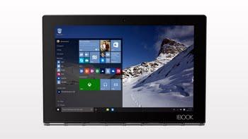 "Lenovo YOGA Book 1.44GHz x5-Z8550 10.1"" 1920 x 1200Pixels Touchscreen Zwart"