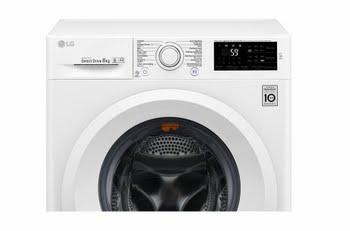 LG F4J5TN3W Vrijstaand Voorbelading 8kg 1400RPM A+++-30% Wit wasmachine