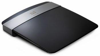 Linksys E2500 Fast Ethernet Zwart draadloze router