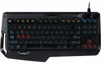 Logitech G410 Atlas Spectrum USB QWERTY US International Zwart toetsenbord
