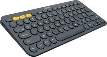 Logitech K380 Bluetooth QWERTY US International Grijs toetsenbord