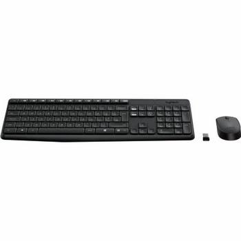 Logitech MK235 Draadloze Toetsenbord en Muis QWERTY