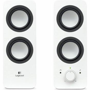 Logitech Z200 Multimedia 2.0 Speakers Wit