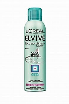 Loreal Paris Elvive Extraordinary Clay Spray Droogshampoo 150ml