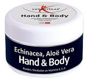 Lucovitaal Hand En Body Creme 200ml