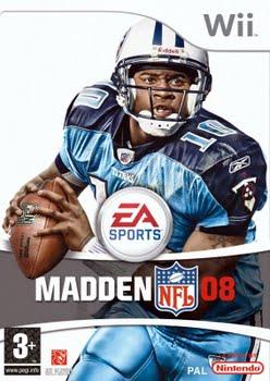 Madden NFL 2008 (Nintendo Wii)