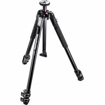 Manfrotto MK190X3-3W1 + 804 II 3-Way Head