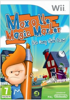 Max and the Magic Marker (Nintendo Wii)