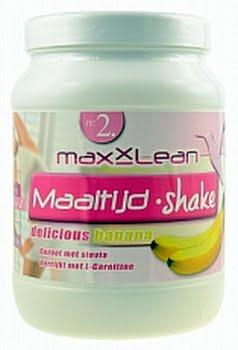 Maxxlean Maaltijd Shake Banaan 630gram