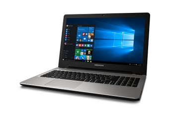 "Medion AKOYA E6421-i5-1628 2GHz i5-6200U 15.6"" 1920 x 1080Pixels Zilver Notebook"