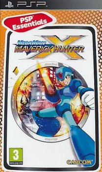 Megaman Maverick Hunter X (essentials) (Sony PSP)