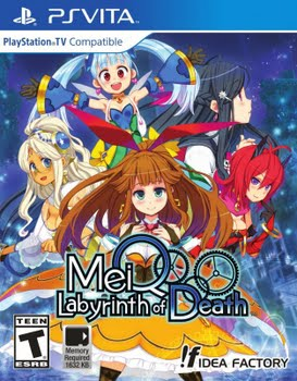 MeiQ Labyrinth of Death (PS Vita)