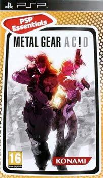 Metal Gear Acid (essentials) (Sony PSP)