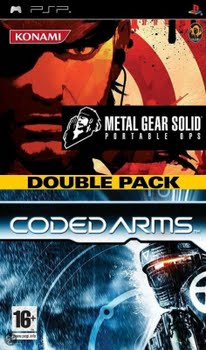 Metal Gear Solid Portable Ops + Coded Arms (Double Pack) (Sony PSP)