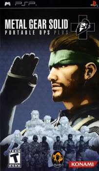 Metal Gear Solid Portable Ops Plus (Sony PSP)