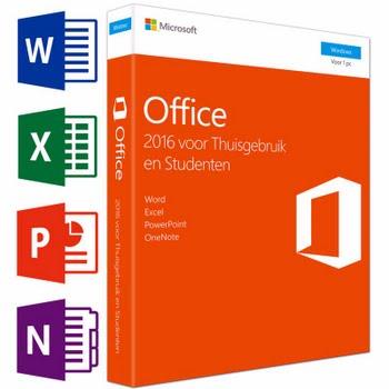 Microsoft Office Thuisgebruik en Studenten 2016 UK