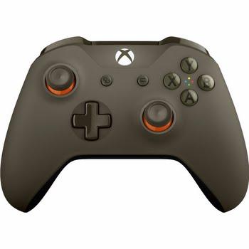 Microsoft Xbox One S Draadloze Controller Grijs/Groen