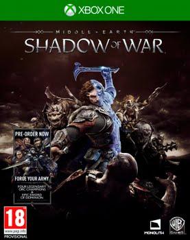 Middle Earth: Shadow of War (+Pre-Order Bonus) (Xbox One)
