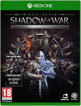 Middle Earth: Shadow of War (Silver Edition) (+Pre-Order Bonus) (Xbox One)
