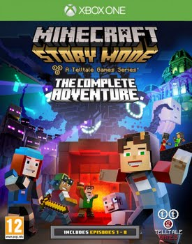 Minecraft Story Mode the Complete Adventure (Xbox One)