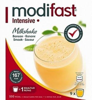 Modifast Intensive Milkshake Banaan 423gram