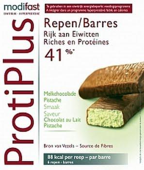 Modifast Protiplus Reep Chocola Pistache 6stuks