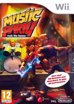Music Party Rock the House (Nintendo Wii)