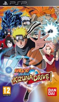 Naruto Shippuden Kizuna Drive (Sony PSP)
