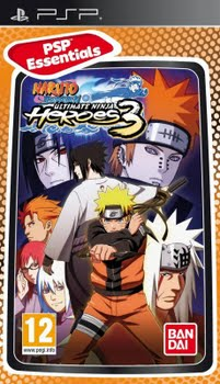 Naruto Ultimate Ninja Heroes 3 (essentials) (Sony PSP)