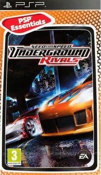 Need for Speed Underground Rivals (essentials) (Sony PSP)