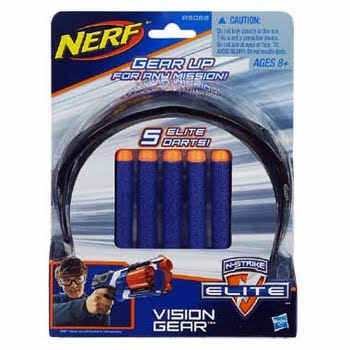 Nerf Elite Vision Gear met 5 Darts