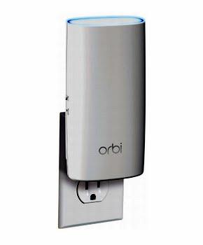Netgear RBW30 Tri-band (2.4 GHz / 5 GHz / 5 GHz) Wit draadloze router