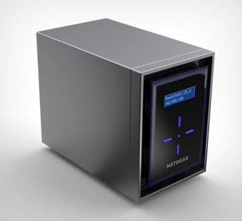 Netgear ReadyNAS 424 NAS Ethernet LAN Zwart