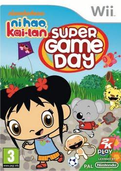 Ni Hao Kai-Lan Super Game Day (Nintendo Wii)