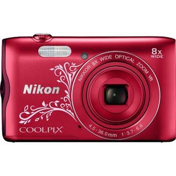 Nikon Coolpix A300 Rood Ornament