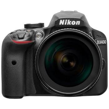 Nikon D3400 AF-S + 18-105 mm VR