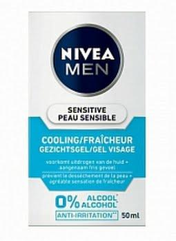Nivea Men Sensitive Cooling Gezichtsgel 100ml