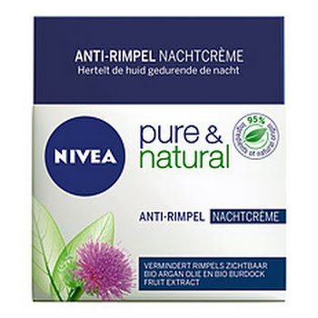 Nivea Pure and Natural Nachtcreme Anti-age 50ml